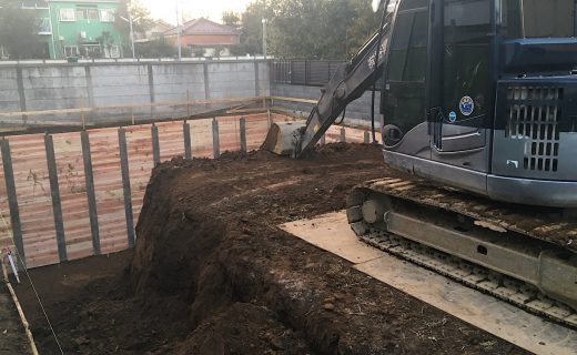 地下掘削2日目