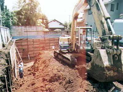 耐震性抜群なRC造地下室の作り方・その4
