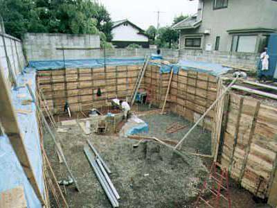 耐震性抜群なRC造地下室の作り方・その5