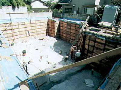 耐震性抜群なRC造地下室の作り方・その6