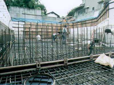 耐震性抜群なRC造地下室の作り方・その7