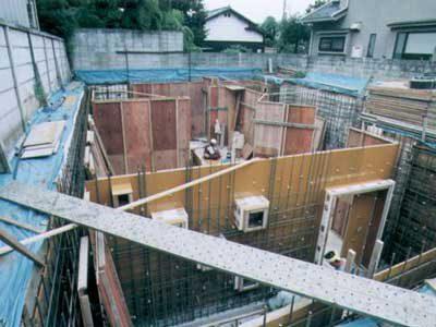 耐震性抜群なRC造地下室の作り方・その8