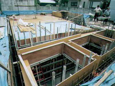 耐震性抜群なRC造地下室の作り方・その9