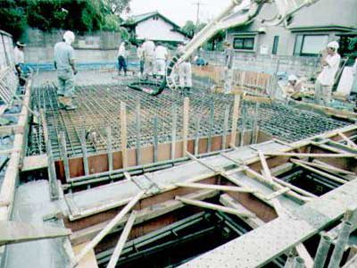 耐震性抜群なRC造地下室の作り方・その11