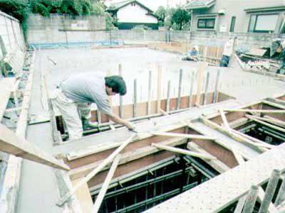 耐震性抜群なRC造地下室の作り方・その12